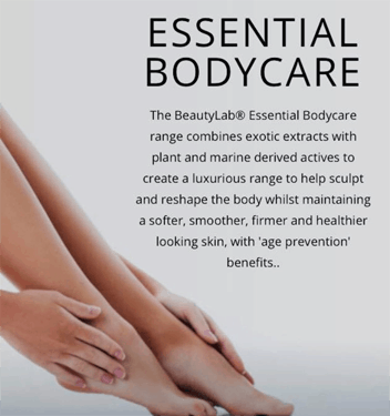 Body care ad